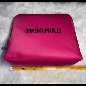 Kate Spade Unmentionables Pink Lingerie Pouch Bag